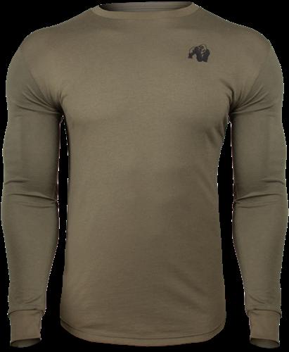 Gorilla Wear Williams Longsleeve - Legergroen - XL