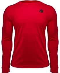 Gorilla Wear Williams Longsleeve - Red - M