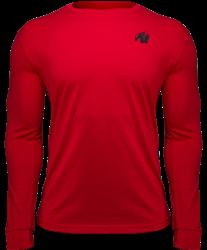 Gorilla Wear Williams Longsleeve - Red - XL