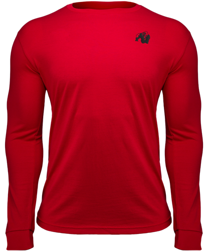Gorilla Wear Williams Longsleeve - Rood - 2XL