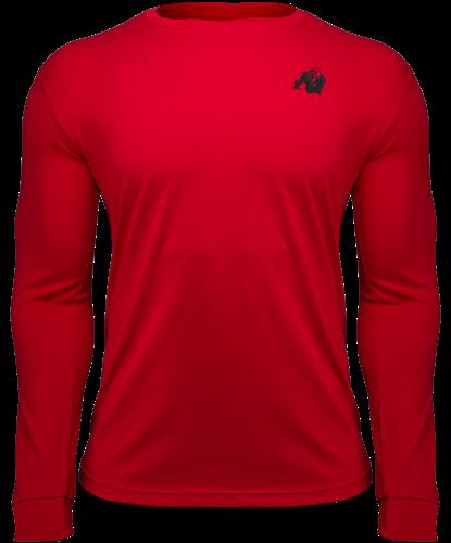 Gorilla Wear Williams Longsleeve - Rood - S