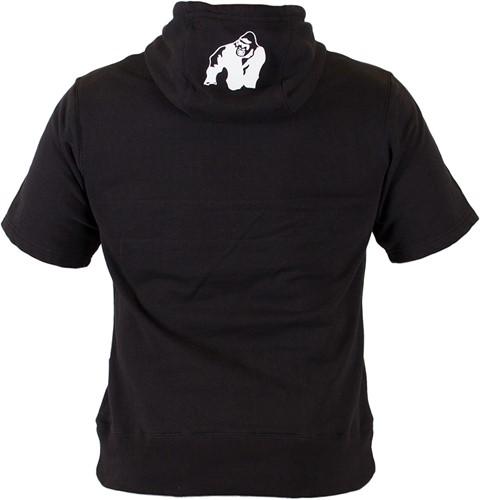 Gorilla Wear Boston Short Sleeve Hoodie - Black-2