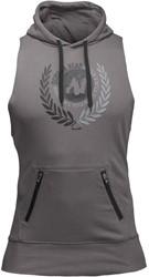 Gorilla Wear Manti Sleeveless Hoodie - Gray - 4XL