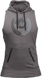Gorilla Wear Manti Sleeveless Hoodie - Gray - L