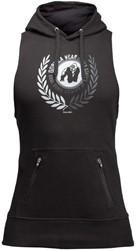 Gorilla Wear Manti Sleeveless Hoodie - Black - 4XL