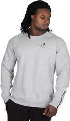 Gorilla Wear Durango Crewneck Sweatshirt - Gray - L