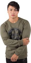 Gorilla Wear Bloomington Crewneck Sweatshirt - Army Green - 3XL