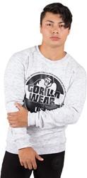 Gorilla Wear Bloomington Crewneck Sweatshirt - Mixed Gray - 4XL