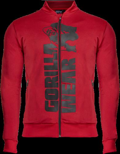 Gorilla Wear Ballinger Trainingsjas - Rood/Zwart