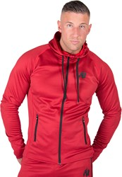 Gorilla Wear Bridgeport Zipped Hoodie - Rood - XL