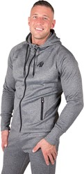 Gorilla Wear Bridgeport Zipped Hoodie - Donker grijs - 4XL