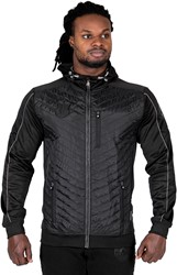 Gorilla Wear Jefferson Front Padded Jacket - Black/Gray - 4XL