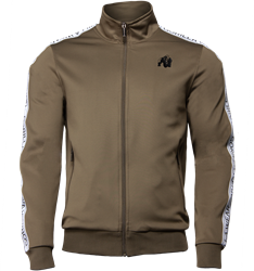 Gorilla Wear Wellington Track Jacket - Olive Green - L