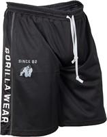 Gorilla Wear Functional Mesh Short (Black/White) - S/M ...