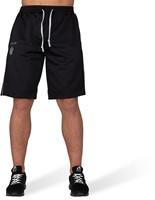 Gorilla Wear Functional Mesh Shorts - Zwart/Rood-2
