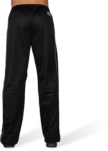 Gorilla Wear Functional Mesh Trainingsbroek - Zwart/Wit-3
