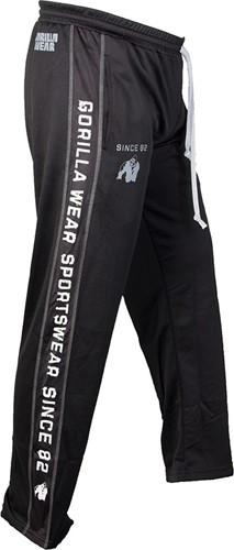 Gorilla Wear Functional Mesh Pants (Black/White)-2