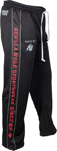Gorilla Wear Functional Mesh Pants (Red/Black)