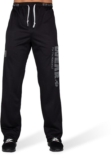 Gorilla Wear Logo Mesh Trainingsbroek - Zwart-2