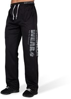 Gorilla Wear Logo Mesh Trainingsbroek - Zwart