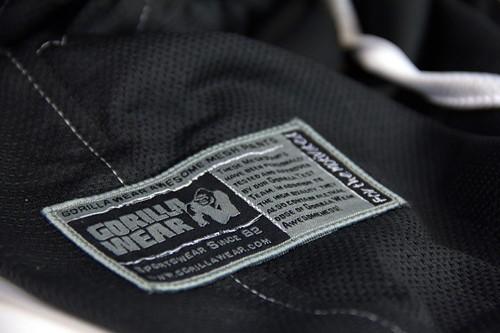 Gorilla Wear Logo Meshpants Black-3