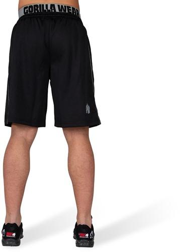Gorilla Wear California Mesh Shorts - Zwart/Grijs-3