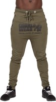 Gorilla Wear Alabama Drop Crotch Joggers - Army Green - S