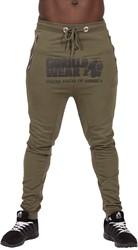 Gorilla Wear Alabama Drop Crotch Joggers - Army Green - S