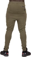 Gorilla Wear Alabama Drop Crotch Joggers - Army Green - S-2
