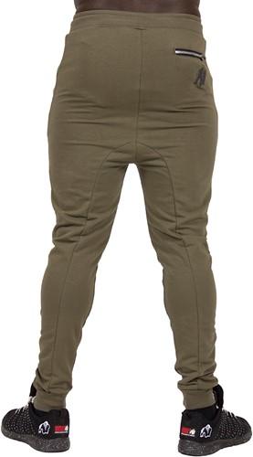 Gorilla Wear Alabama Drop Crotch Joggers - Army Green - L-2