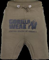 Gorilla Wear Alabama Drop Crotch Shorts - Army Green - 4XL