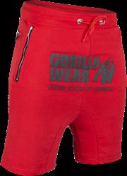 Gorilla Wear Alabama Drop Crotch Shorts - Red - 3XL