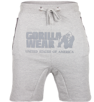 Gorilla Wear Alabama Drop Crotch Shorts - Gray