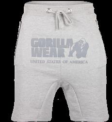 Gorilla Wear Alabama Drop Crotch Shorts - Gray - 4XL
