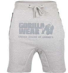 Gorilla Wear Alabama Drop Crotch Shorts - Gray - S