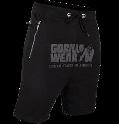 Gorilla Wear Alabama Drop Crotch Shorts - Black - 4XL