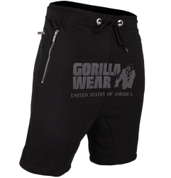 Gorilla Wear Alabama Drop Crotch Shorts - Black - L