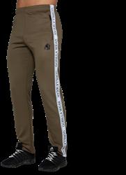 Gorilla Wear Wellington Track Pants - Olive Green - S
