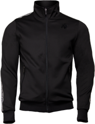 Gorilla Wear Wellington Track Jacket - Black - 4XL
