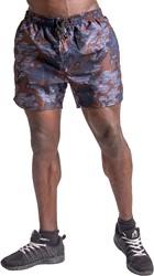 Gorilla Wear Bailey Shorts - Blue Camo - 4XL