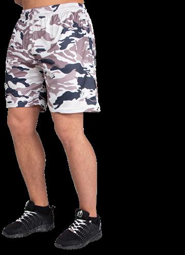 Gorilla Wear Kansas Shorts - Beige Camo