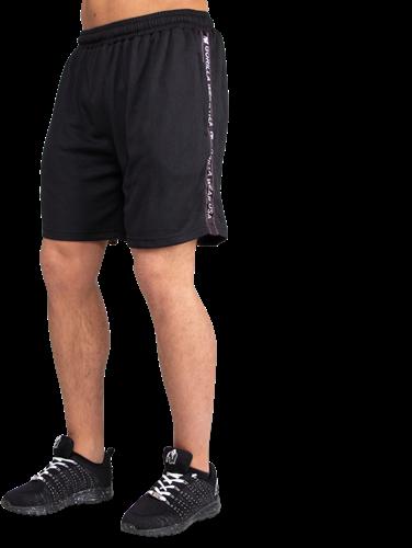 Gorilla Wear Reydon Mesh Shorts - Zwart