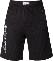 Gorilla Wear Augustine Old School Shorts - Black - 2XL/3XL