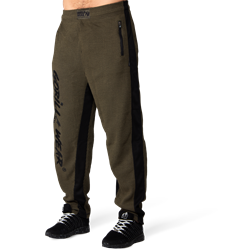 Gorilla Wear Augustine Old School Pants - Army Green - 2XL/3XL