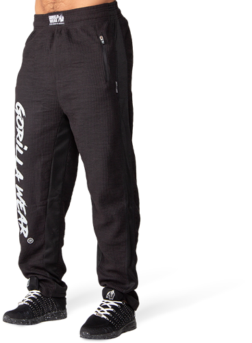Gorilla Wear Augustine Old School Trainingsbroek - Zwart