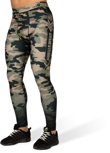 Gorilla Wear Franklin Tights - Legergroen Camo