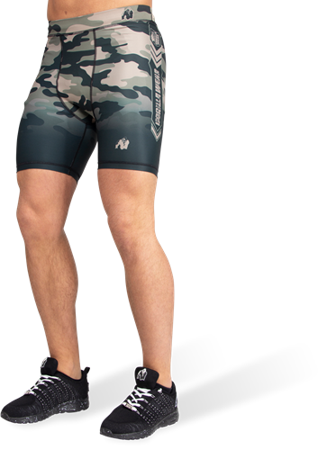 Gorilla Wear Franklin Shorts - Legergroen Camo