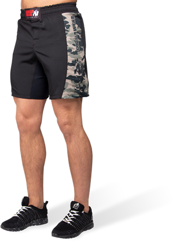 Gorilla Wear Kensington MMA Fightshorts - Legergroen Camo