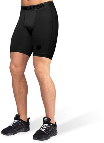 Gorilla Wear Smart Shorts - Zwart