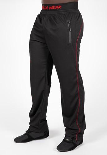 Gorilla Wear Mercury Mesh Broek - Zwart/Rood
